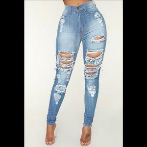 🆕Fashion Nova Alter Ego High Waisted Jeans